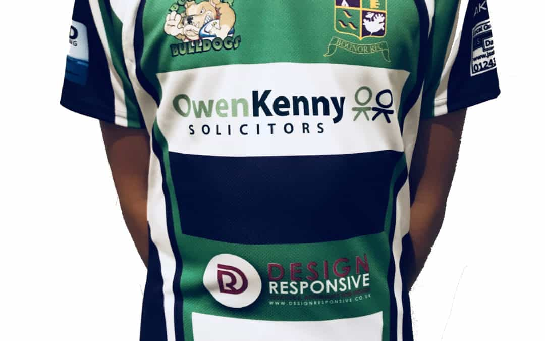 DESIGN RESPONSIVE IS PROUD TO SPONSOR BOGNOR RFC UNDER 13's